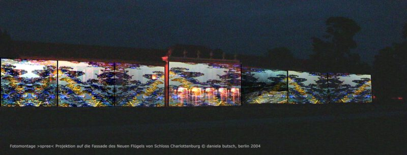 Daniela Butsch, Fotomontage Schloss Charlottenburg-Neuer-Fluegel-Spree.jpg